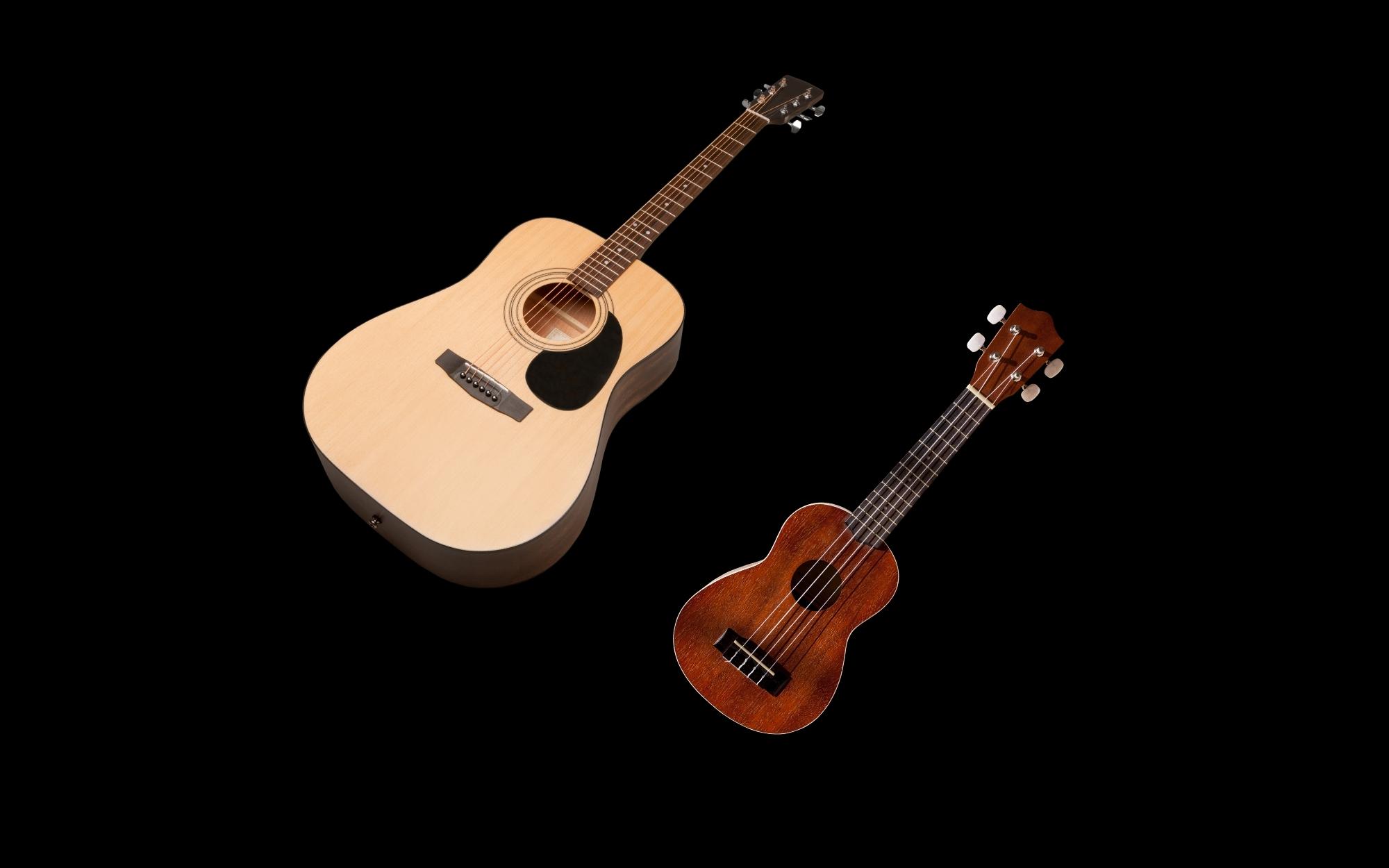 Gitarre/ Ukulele mieten